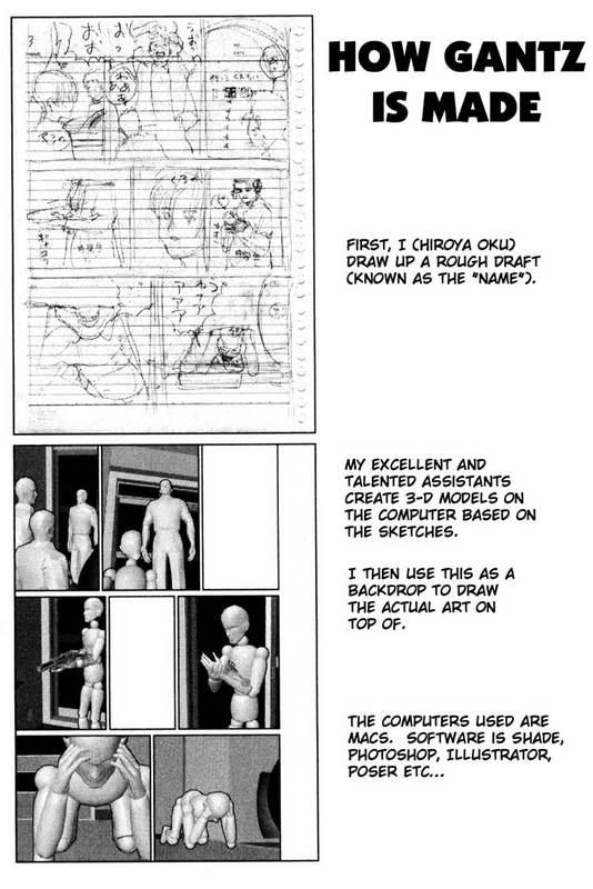Creator Gantz uses Poser